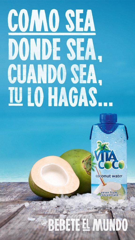 aigua de coco vitacoco clubs dir