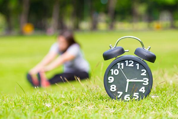 exercici durant el mati