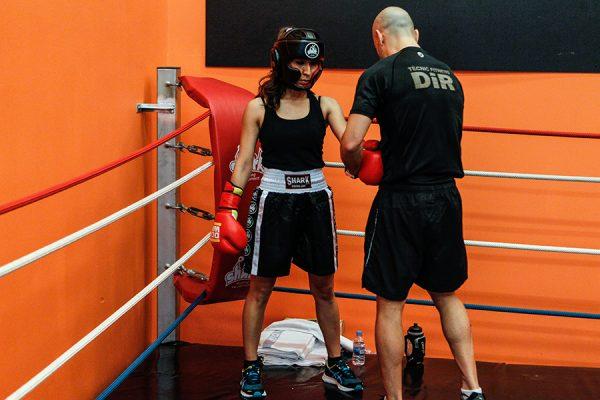 foto rocio boxeo interclubs clubs dir