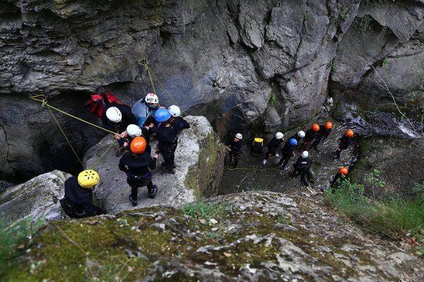 deportes de aventura descenso de barrancos el berrós