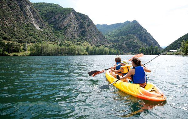 deportes de aventura kayak la guingueta