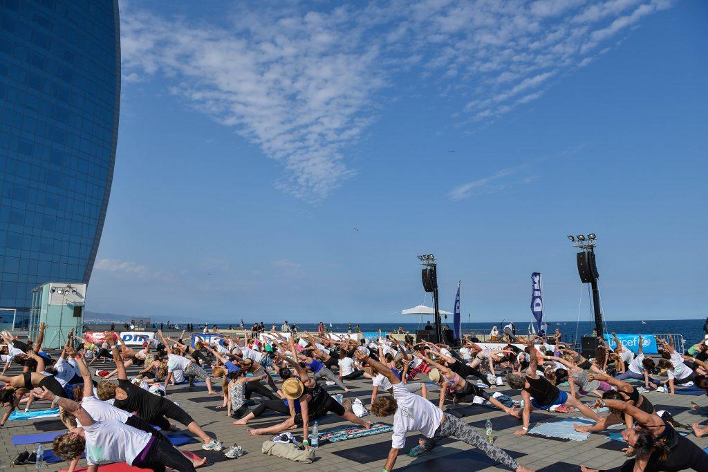 yoga day by dir 2017