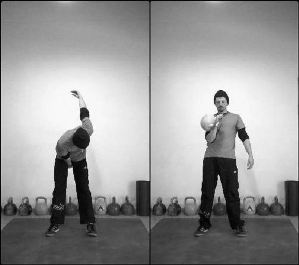 exercici clean amb kettlebell