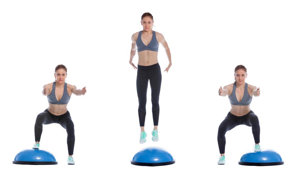 desplaçaments laterals amb bossu exercicis entrenament pàdel