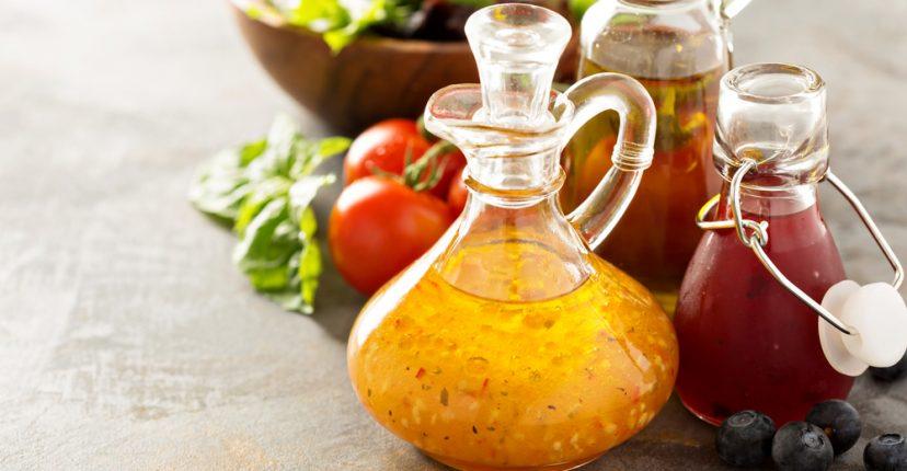 salsas y vinagretas caseras para ensalda