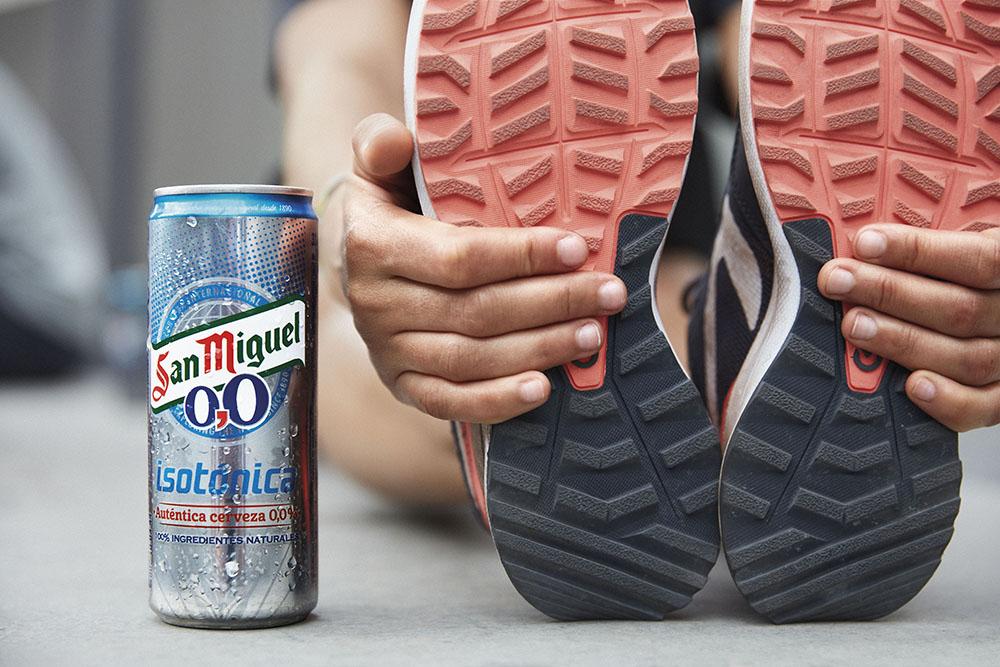 begudes isotòniques cervesa san miguel