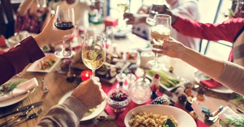 consejos para equilibrar tus fiestas de navidad