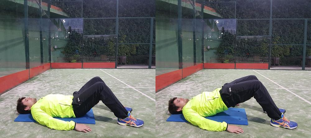 exercicis glutis millorar la força i la potència en el pàdel