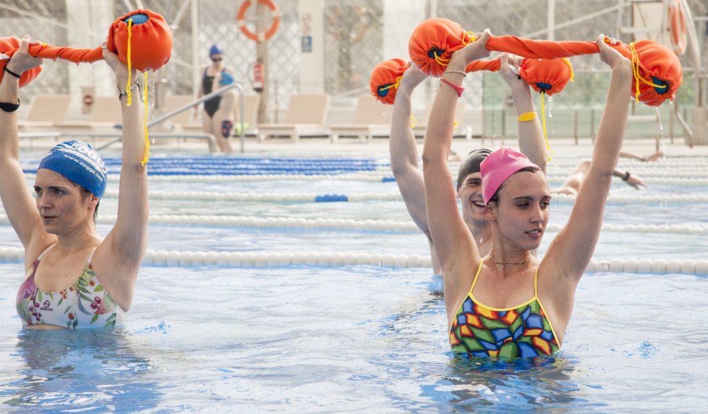 planning para adelgazar entrenando en la piscina