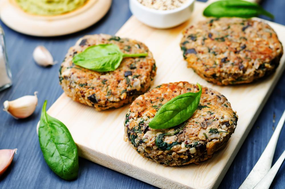 propietats de la quinoa i els seus beneficis recepta hamburgueses