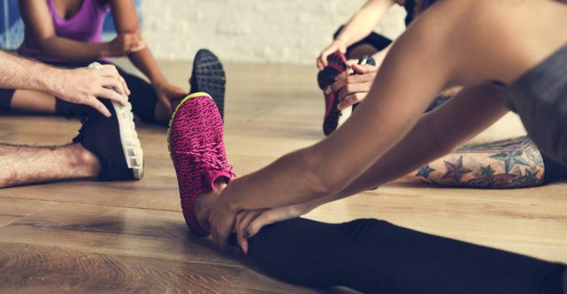 ejercicios de estiramientos después de correr