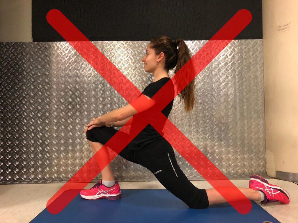 exercicis estiraments per després de córrer psoas iliac error
