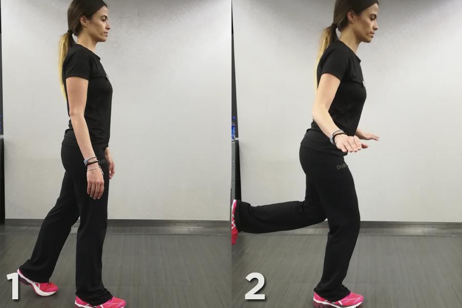 ejercicios para evitar el dolor de rodilla