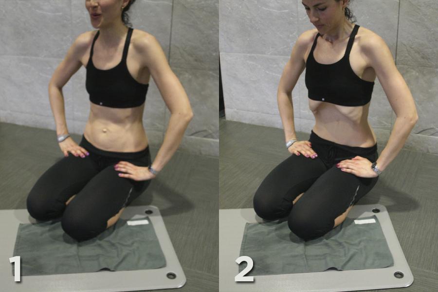 Exercicis abdominals hipopressius