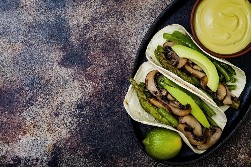 healthy taco and wraps recipes