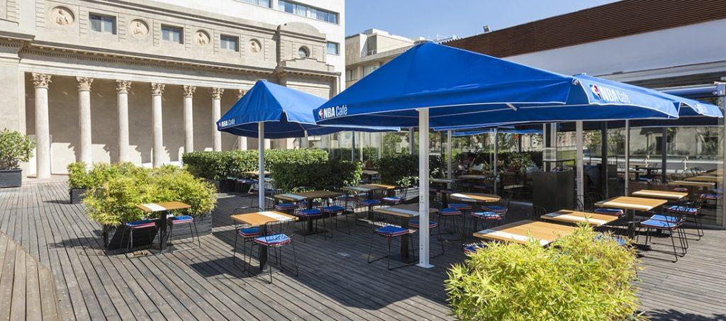 terrassa NBA cafe barcelona