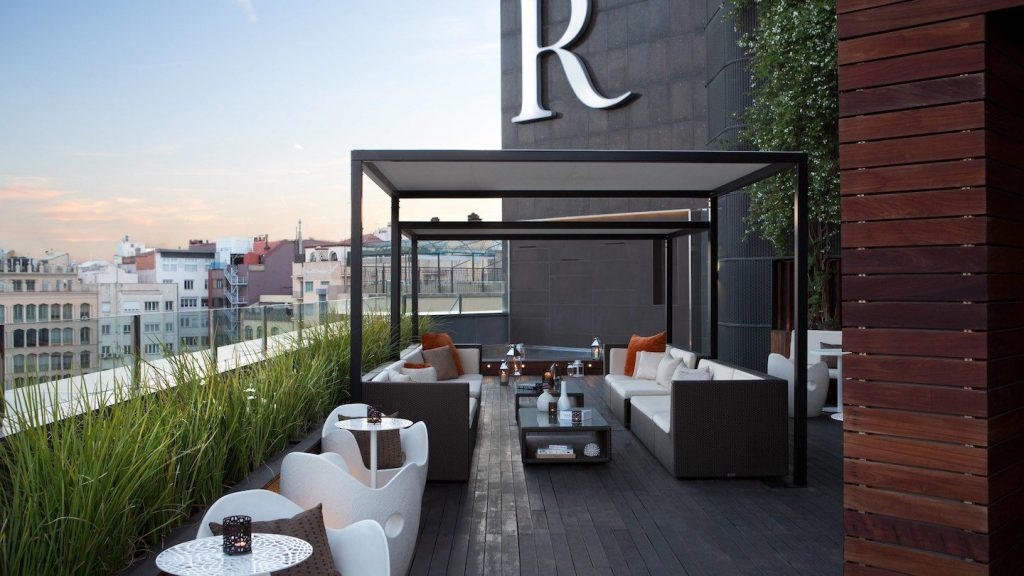 terrassa hotel renaissance
