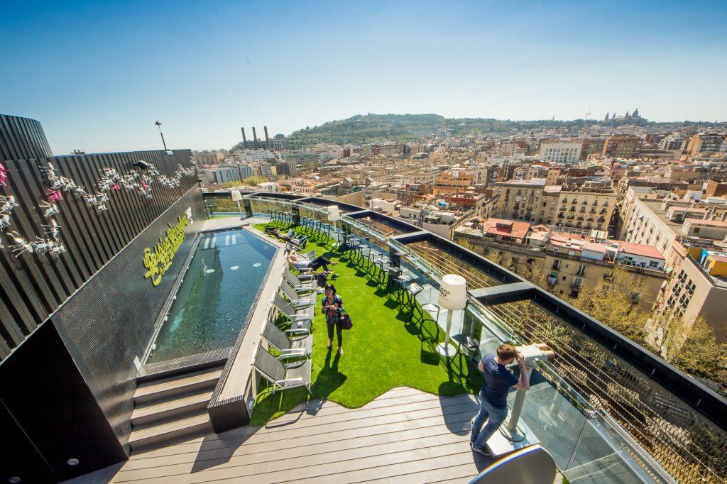 terrazas de barcelona hotel barceló raval 360