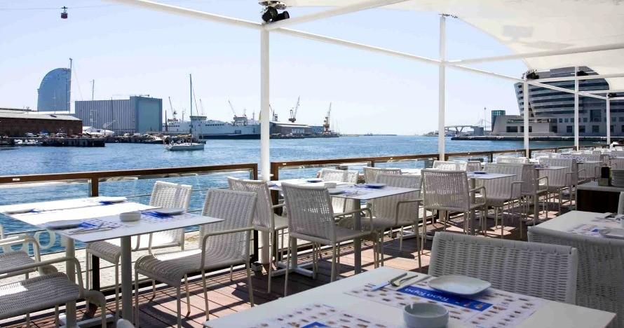 terrazas de barcelona restaurante tapa tapa maremagnum