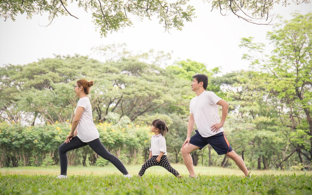 Actividad física en familia