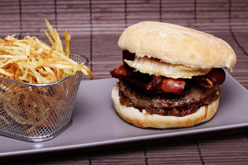 hamburguesa aliments a evitar després d'entrenar