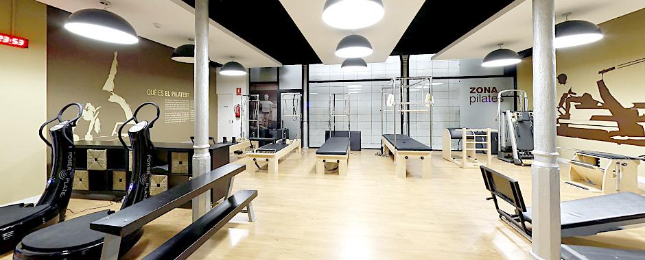 zona de pilates als clubs DiR