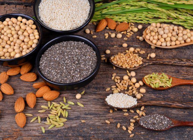 alimentos ricos en proteinas vegetales
