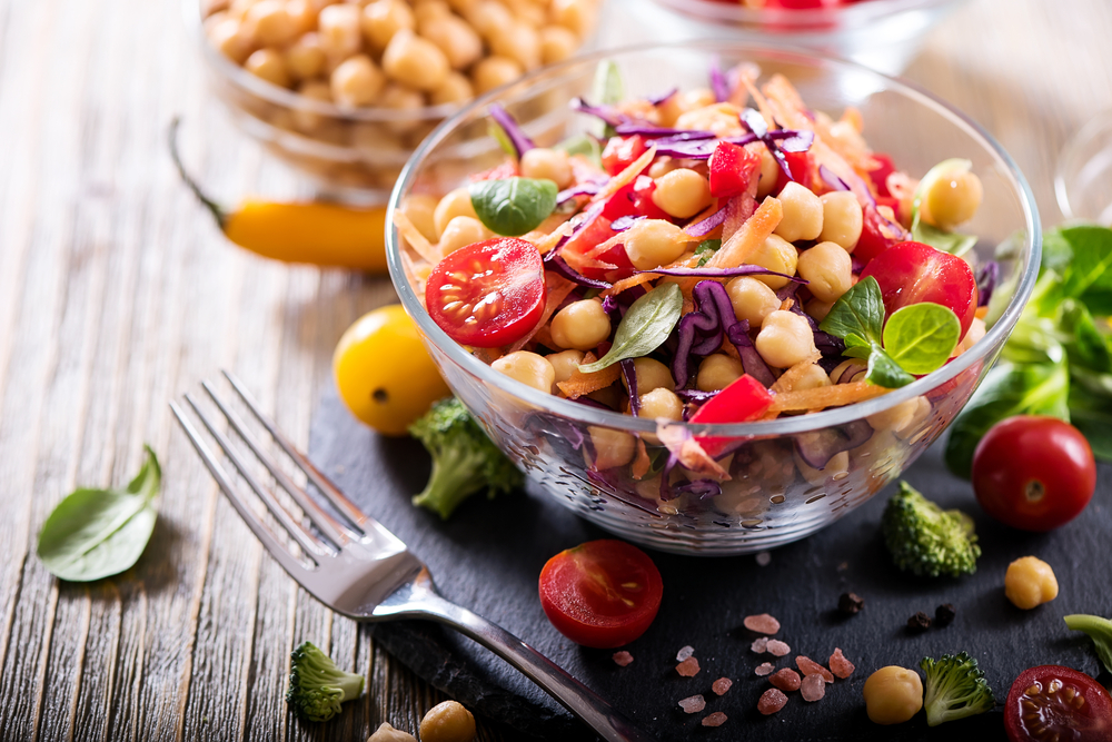 chickpeas foods rich in plant protein