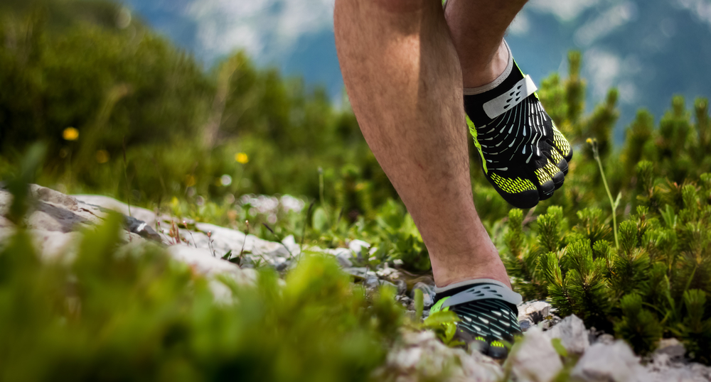 barefoot running correr descalzo
