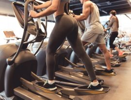 burn calories crosstrainer