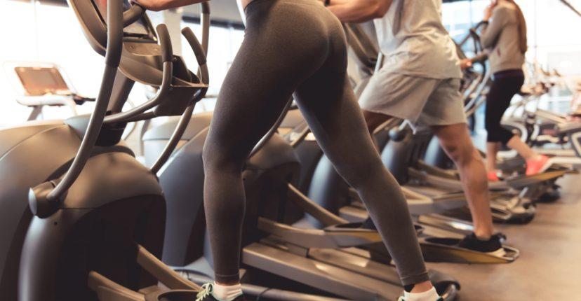 burn calories crosstrainer