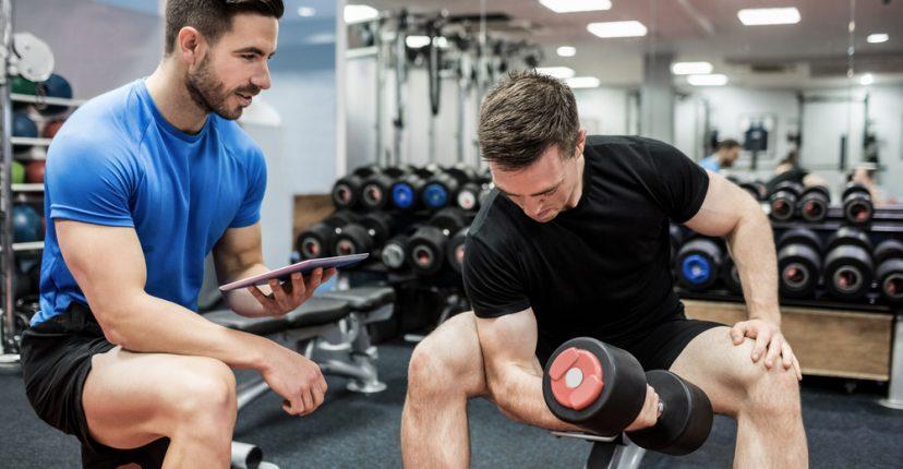 test de rutina de musculación programa de entrenamiento