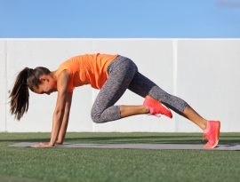 cardio exercises mountain climber