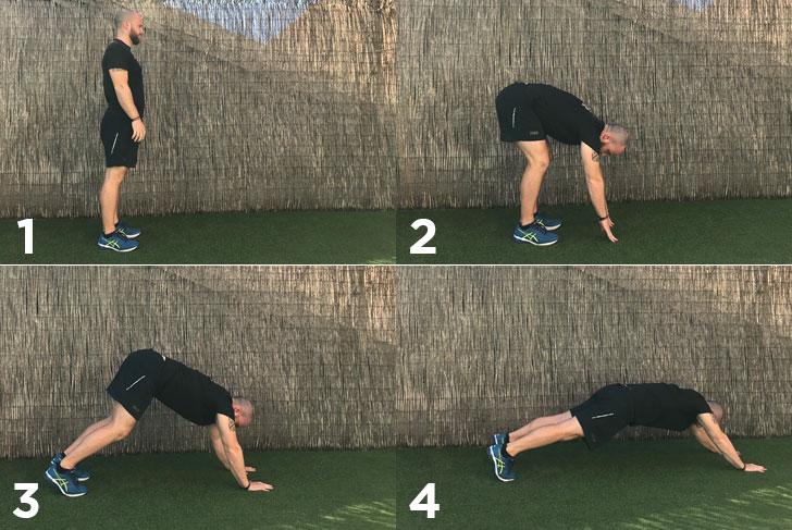 exercici walking plank
