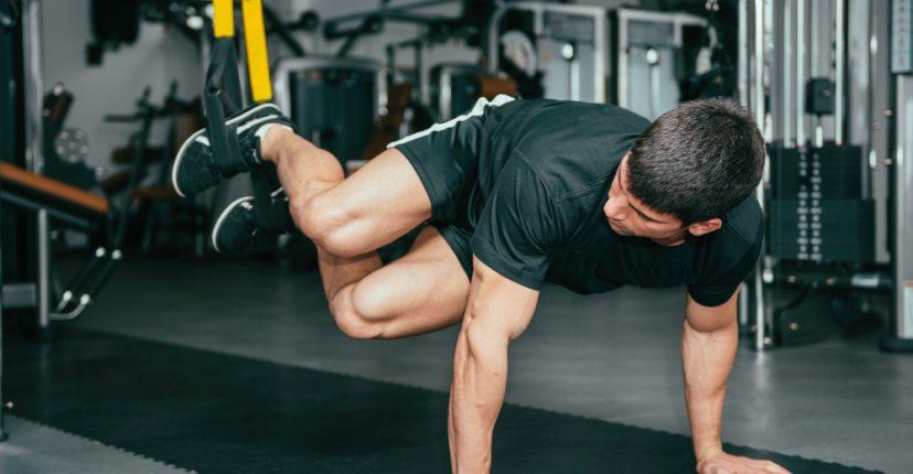 exercicis TRX abdominals