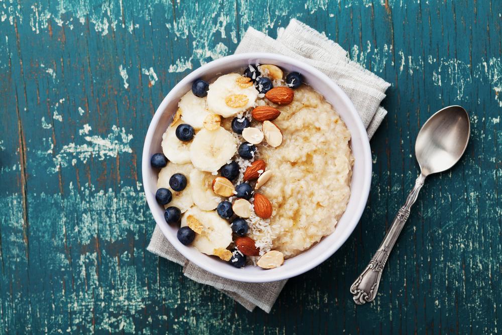 porridge que menjar després d'entrenar