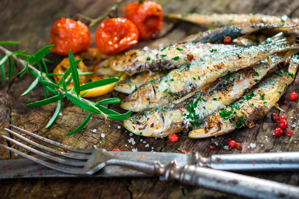 sardinas alimentos para mantenerte joven