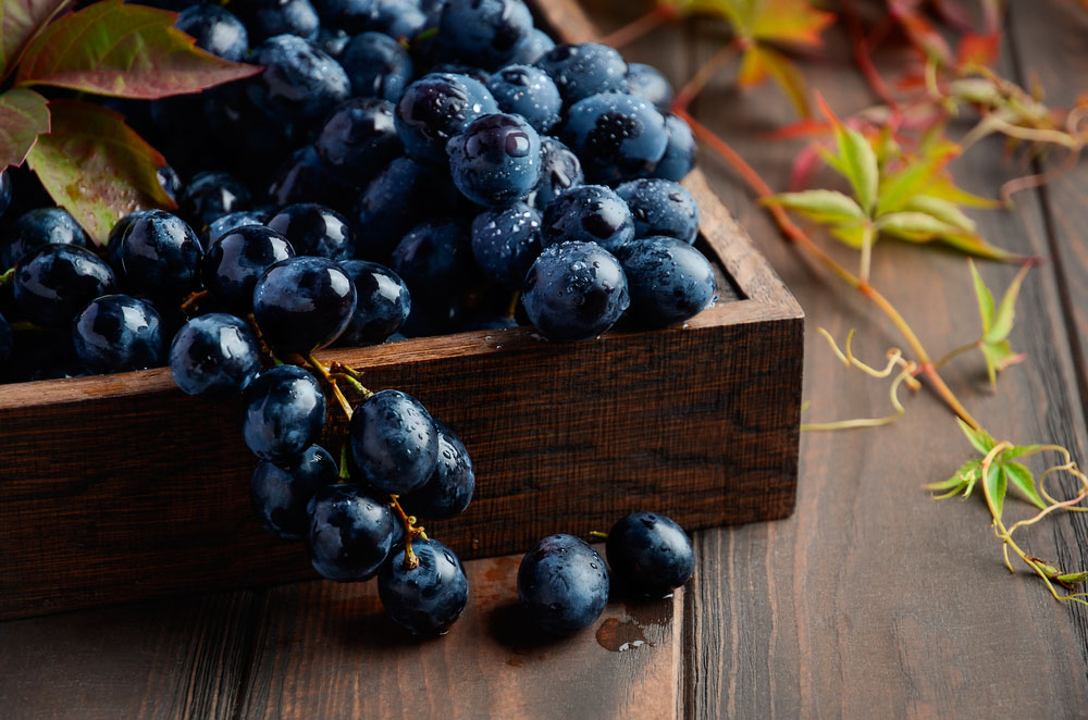 uva nerga alimentos para mantenerte joven