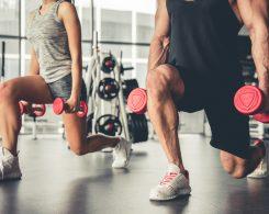 entrenamiento y nutrición para conseguir objetivos en el gimnasio