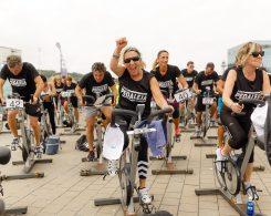 activitat de la fundació dir pedaleja per la marató de tv3
