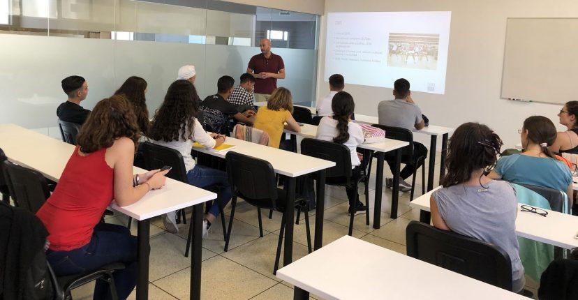 taller de la fundació dir per a joves en exclusió social