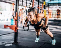 ejercicios TRX para entrenar todo el cuerpo