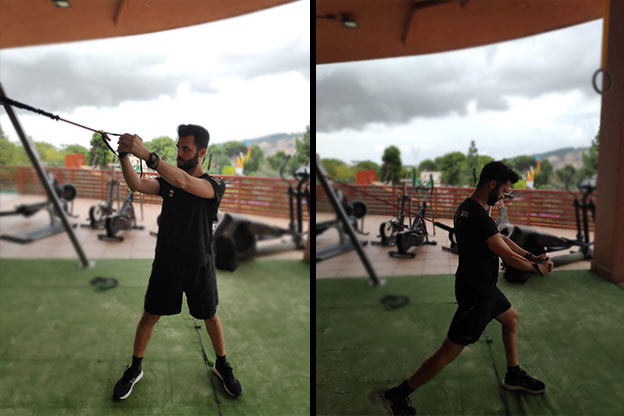 ejercicios para la preparación física del padel