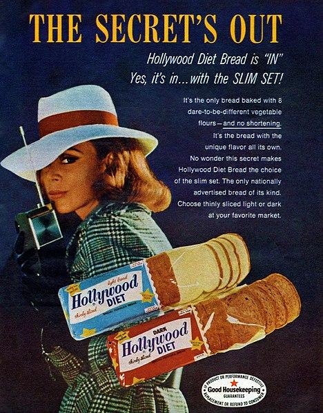 anunci anys 20 sobre la dieta hollywood