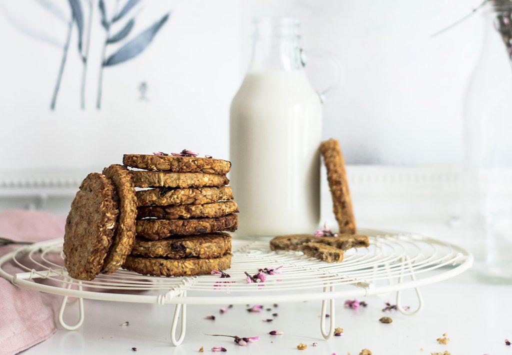 galletas con avena desayunos con proteinas