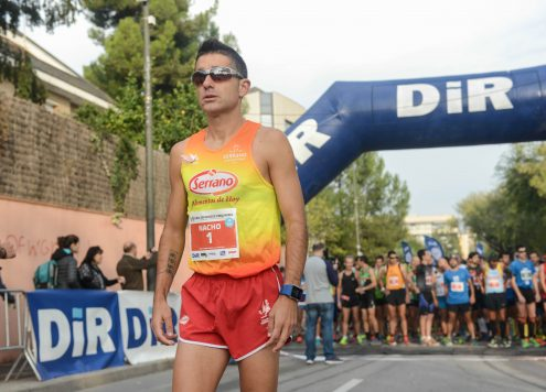 El Atleta Olímpico Nacho Cáceres