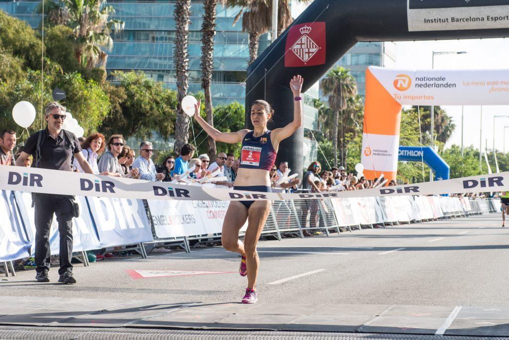 Marta Galimany ganadora Cursa DiR Guàrdia Urbana 2017