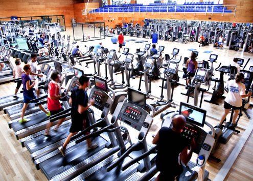 Sala de fitness DiR Hispà