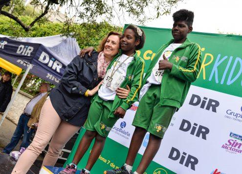 Participants cursa DiR Kids PNJ