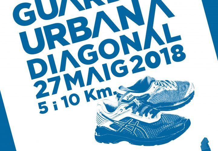 Cartel de la VI edición de la Cursa DiR Guàrdia Urbana - Diagonal